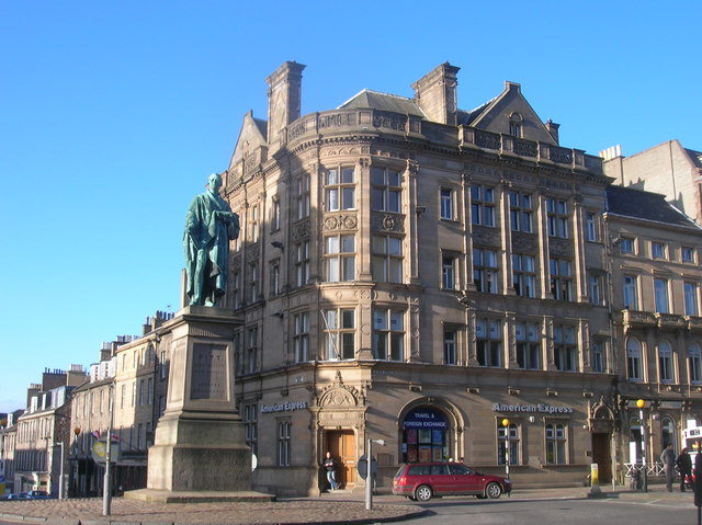 William Pitt Monument, George Street junction with Frederick Street
