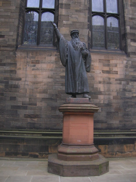 John Knox Monument, New College
