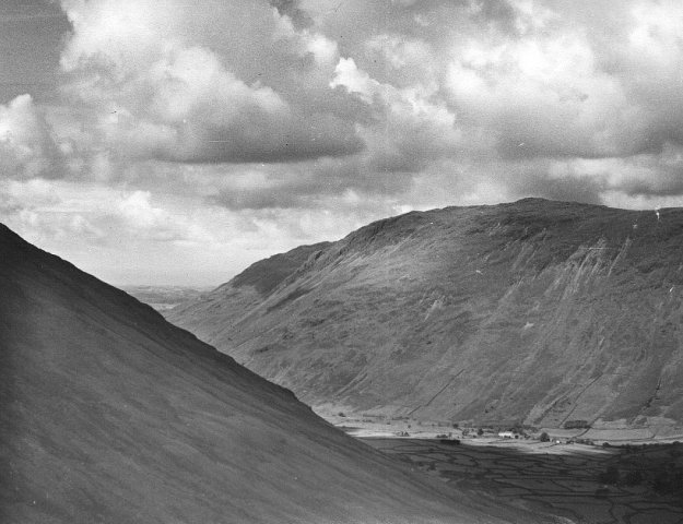 Wasdale from Sty Head Track