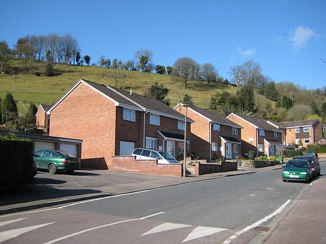 Modern housing, Mitcheldean