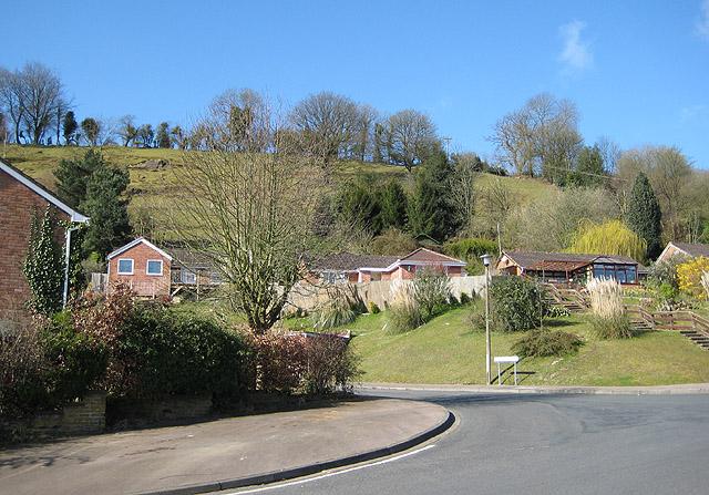 Hillside housing, Mitcheldean