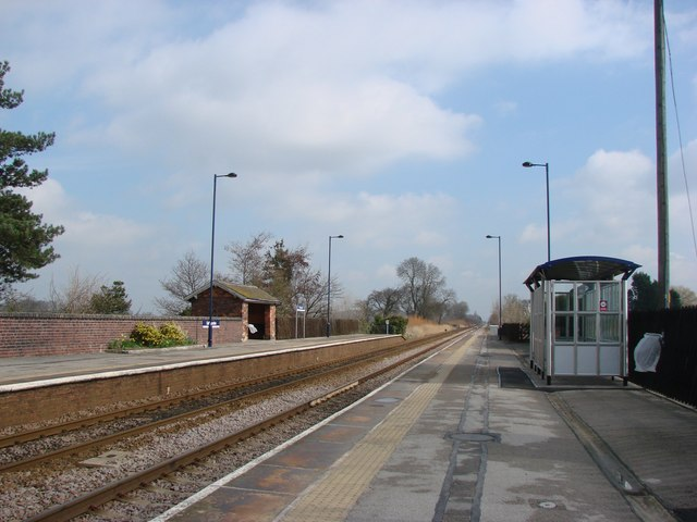 Saltmarshe Station
