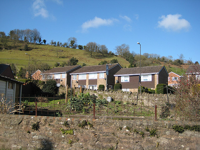 Hillside houses, Mitcheldean