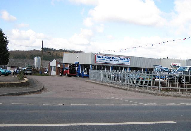 Nick King Car Sales, Cinderford