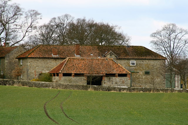 Farm buildings at Killerby Hall