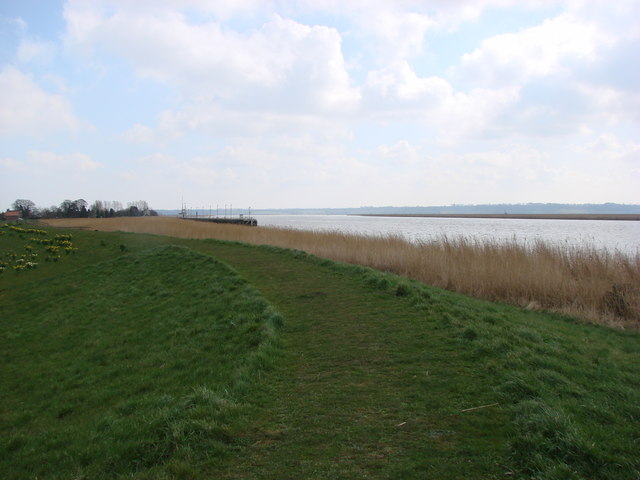 The Trans Pennine Way footpath, Blacktoft