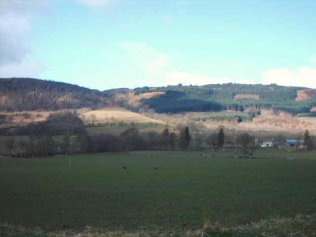 Hills Behind Castle of Rednock Farm