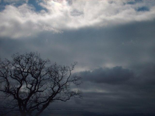 Brooding skies