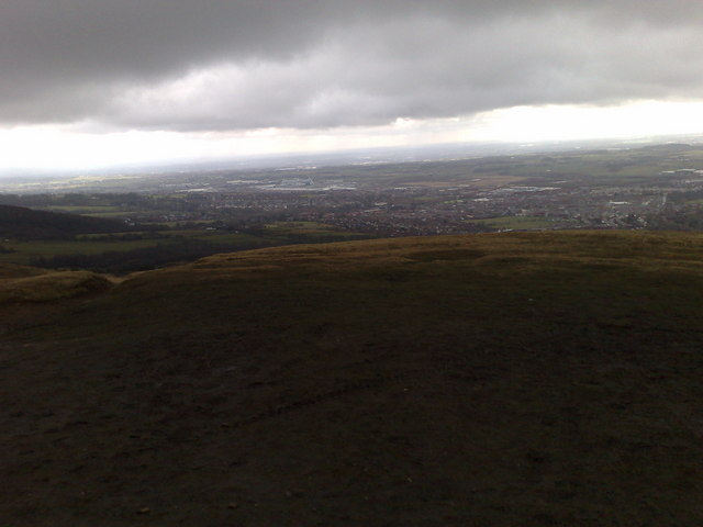 View from the top of  Rivington