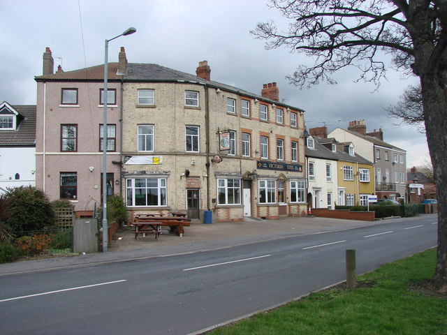 The Victoria Hotel, Hook Road, Goole