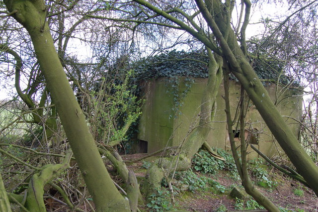Pillbox near Woolaston
