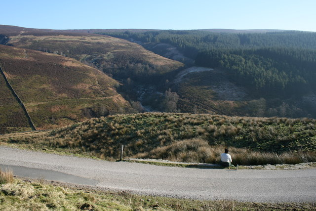 Whitendale valley from road