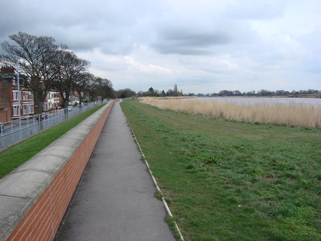 Riverside Footpath, Hook Road, Goole
