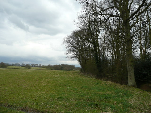 View east of the B2026