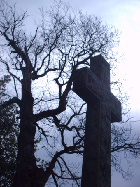 Large Cross At Fintry Churchyard