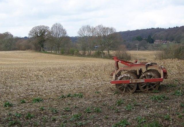 Farmland near Brookheath