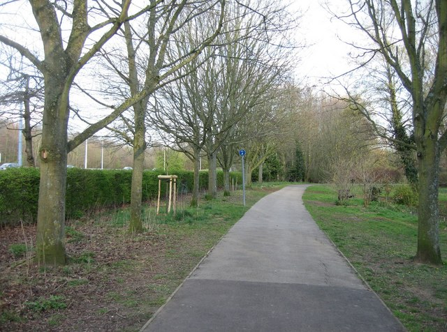 Cycle Path - Eastrop Park