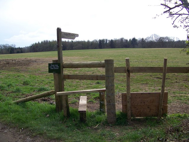 New stile with dog gate, Brookheath