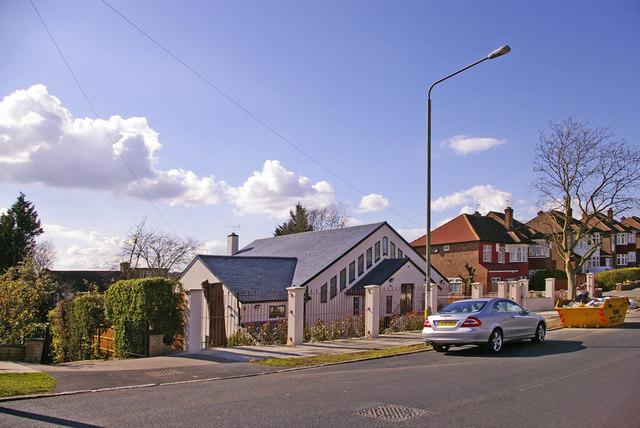 Synagogue, Brookside, East Barnet, Hertfordshire