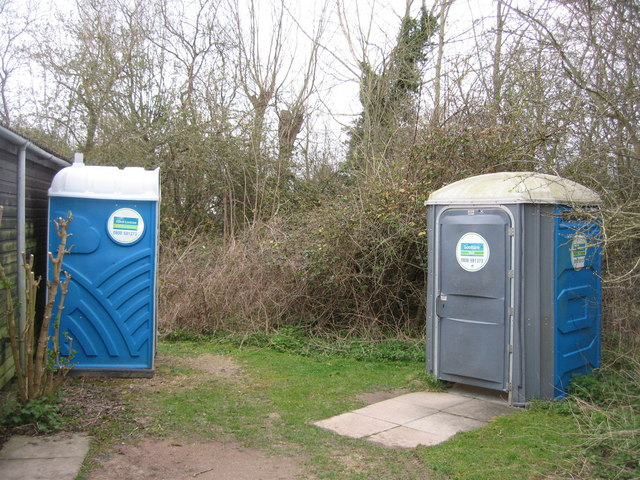 Loos by the wardens hut