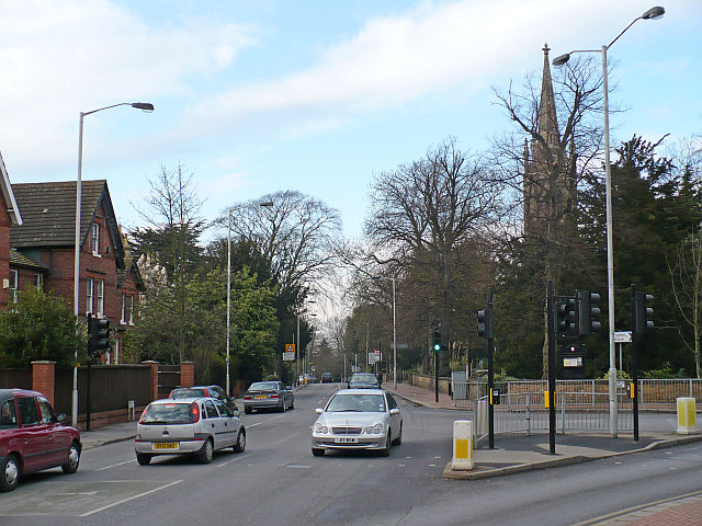 Beulah Hill and Church Road Junction