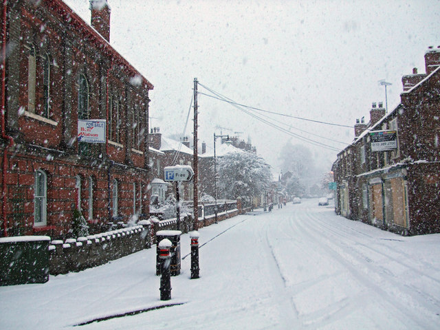 High Street, Barton Upon Humber, Easter Sunday 2008