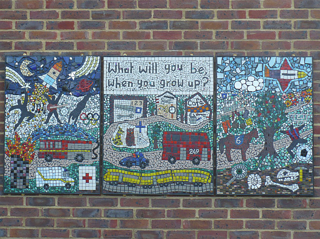 Mural at All Saints School