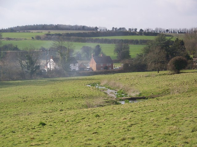 Water meadows near Marsh Farm