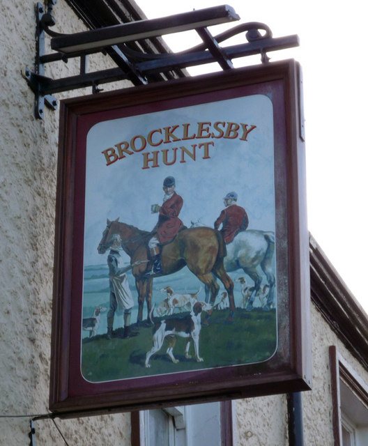 The Sign of the Brocklesby Hunt