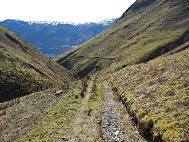 Track towards Inverinate