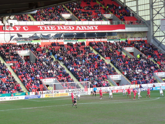 The Red Army, Pittodrie Stadium
