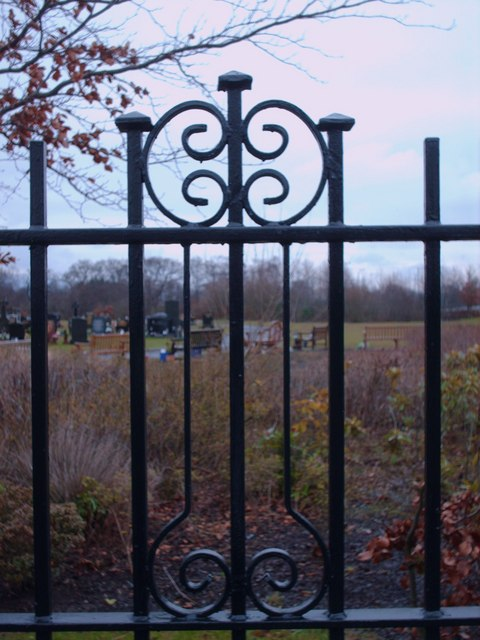 Railing At Cadder Cemetery