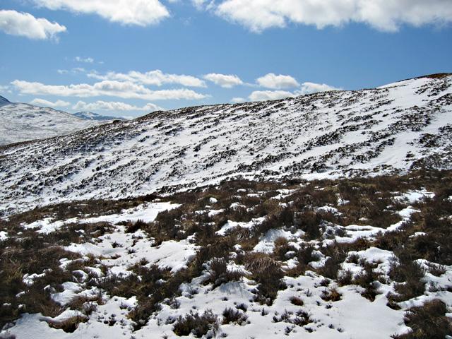 Hillside above the Allt a' Mhaim