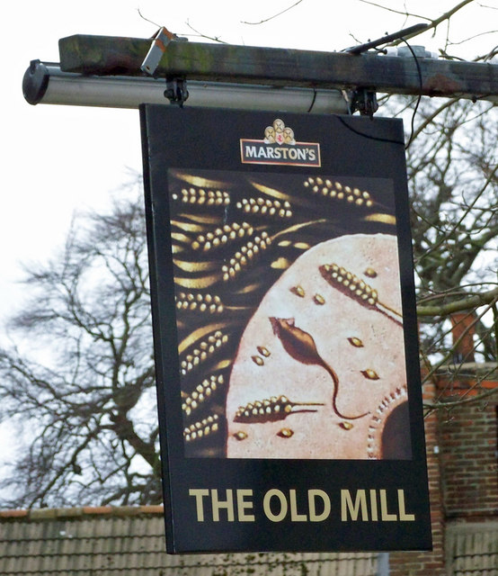 The Sign of The Old Mill