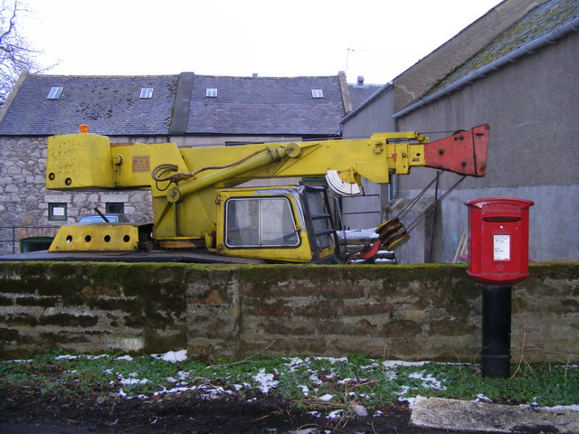 A Crane at the Mill