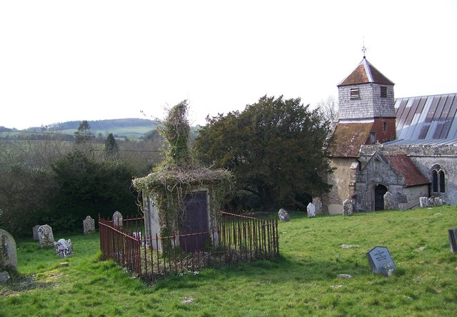 Church tower and tomb, St Andrew's Church