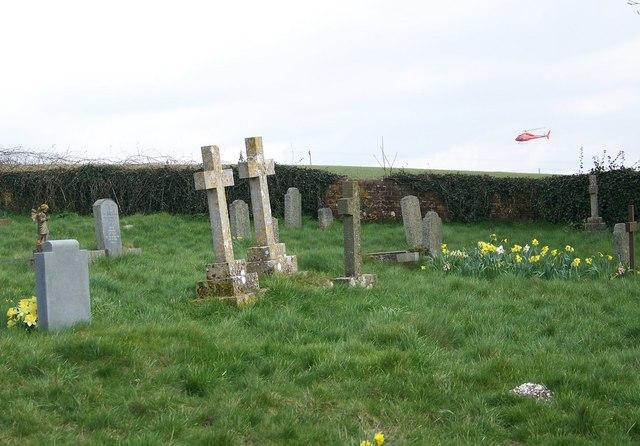 Churchyard, St Andrew's Church, Rockbourne