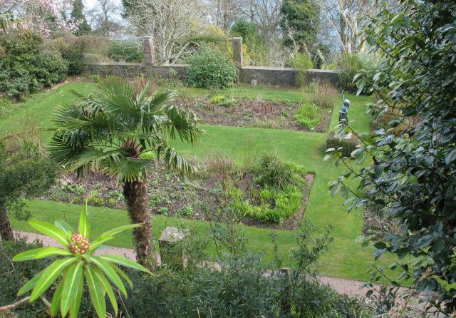 The hidden garden at Overbecks
