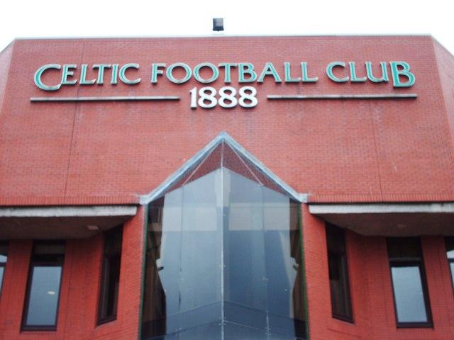 Above the Main Entrance, Celtic Park