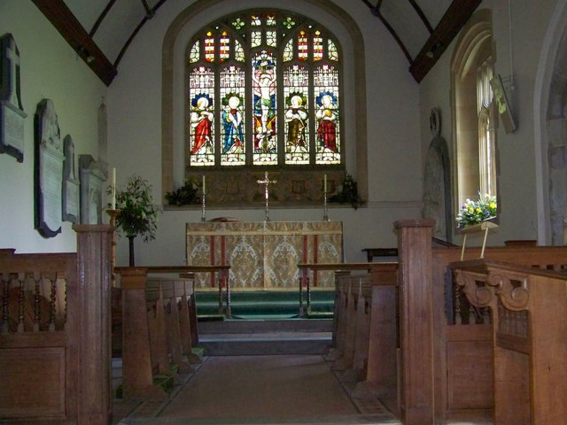Chancel, St Andrew's Church, Rockbourne