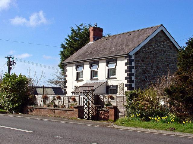 House near Nanteirw, Blaenporth