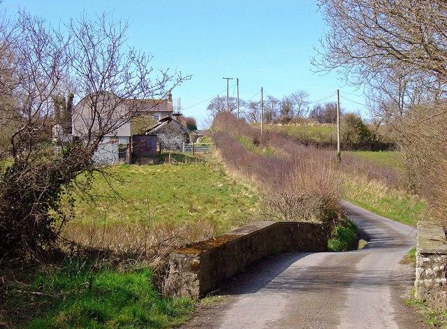 Bridge near Pant-coch, Blaenporth