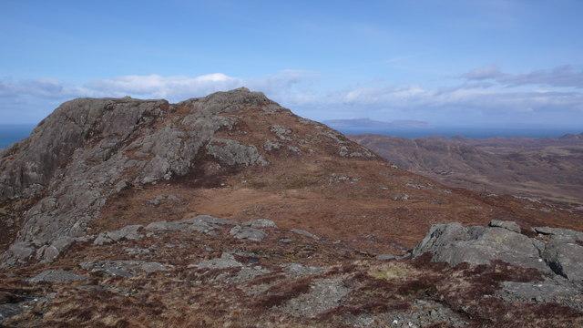 North top of Beinn na Seilg