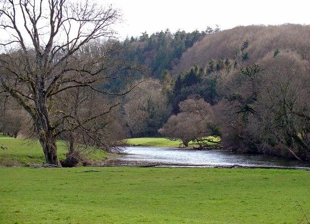 Meander of the Teifi near Alltybwla, Llandygwydd