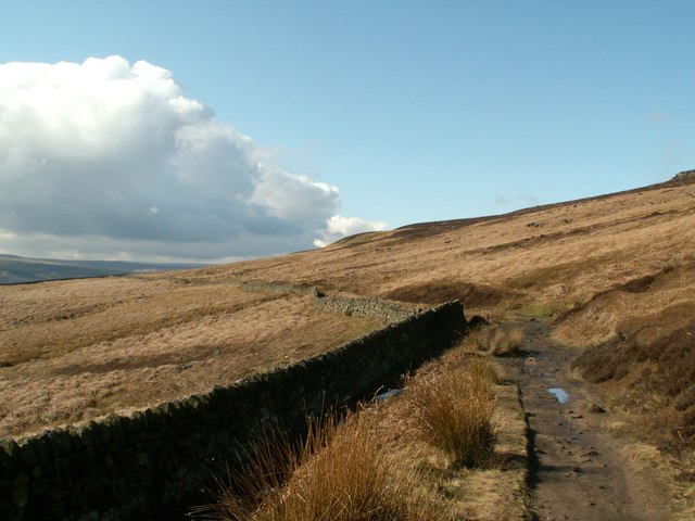 The bridleway to Ladybower Reservoir