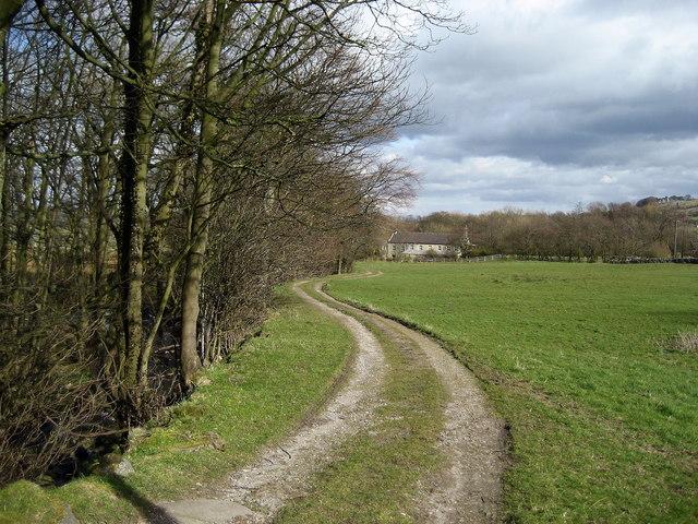 Track beside Padside Beck