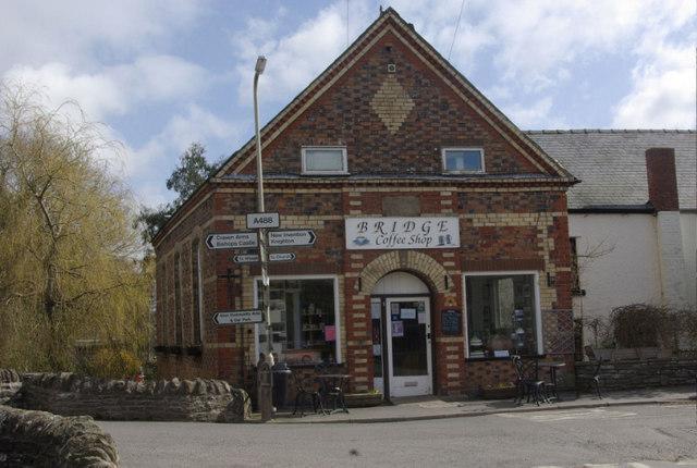 Bridge Coffee Shop, Clun