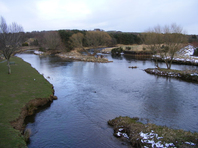 The River Don at Inverurie