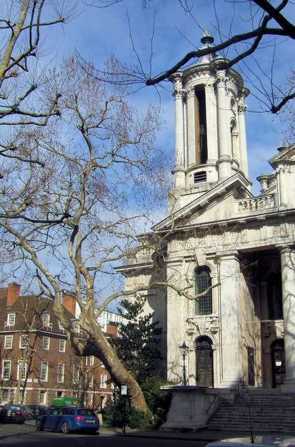 St John's Church, Smith Square, Westminster, London SW1