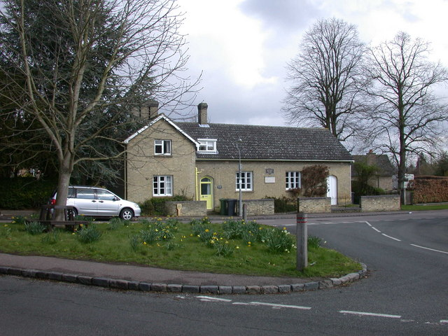 Verger's Cottage & the Johnson Memorial Hall, Stapleford